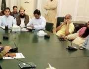 لاہور: ڈپٹی کمشنر لاہور کیپٹن (ر) نورالحق ڈسٹرکٹ امن کمیٹی کے حوالے ..