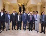 لاہور: پاکستان کارپٹ مینو فیکچررز اینڈ ایکسپورٹرز ایسوسی ایشن کے عہدیداران ..