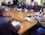 لاہور: وزیر صحت پنجاب ڈاکٹر یاسمین راشد سے عالمی ادارہ صحت کا وفد ملاقات ..