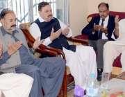 کھوئی رٹہ: سابق وزری اعظم مطلوب انقلابی سابق پی آر اور راجہ ساجد علی ..