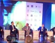 """اسلام آباد: مقامی ہوٹل میں منعقددہ """"انٹرنیشنل انوسٹمنٹ کانفرنس"""" کے .."""