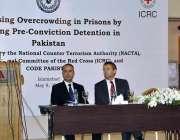 اسلام آباد:نیکٹا کے نیشنل کوآرڈینیٹر احسان غنی خان جیلوں میں ستعداد ..