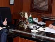 فیصل آباد: جرمن کمرشل کونسلر ڈاکٹر مارٹن ہرزر پاکستان ٹیکسٹائل ایکسپورٹرز ..