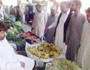 مظفر آباد: مظفر آباد کے شعبہ تجاوزات کے سربراہ سرفراز کیانی دکانداروں ..