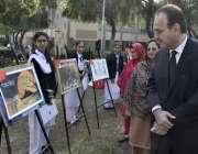 اسلام آباد:ماڈل کالج فار گرلز کے زیر اہتمام یوم اقبال کے سلسلہ میں منعقدہ ..