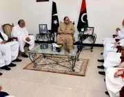 اسلام آباد: سابق صدر آصف علی زرداری سے عوامی نیشنل پارٹی چھوڑ کر پیپلز ..