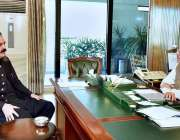 اسلام آباد: صدر مملکت ڈاکٹر عارف علوی سے وفاقی وزیر برائے امور کشمیر ..