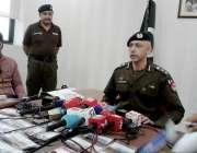 سرگودھا: ڈی پی او سرگودھا ملزمان کی گرفتاری اور ان سے برآمد ہونیوالی ..
