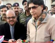 ٹیکسلا: مسلم لیگ (ن) کے رہنما چوہدری نثار علی خان گودھوموڑ میں گیس منصوبے ..