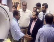 لاہور: صوبائی وزیر پرائمری اینڈ سیکنڈری ہیلتھ خواجہ عمران نذیر کو ڈی ..