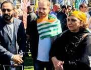 لندن: آزاد کشمیر کی وزیر سماجی بہبود و صنعت و حرفت محترمہ نورین عارف ..