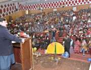 راولپنڈی: وفاقی وزیر ریلوے شیخ رشید احمد سپیشل ایجوکیشن ڈیپارٹمنٹ ..