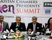 راولپنڈی: چیمبر آف کامرس کے صدر ملک شاہد سلیم دوسری آل پاکستان ویمن ..