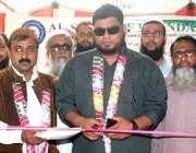 کراچی: الشریف فاؤنڈیشن قذافی ٹاؤن یونٹ کے تحت فری میڈیکل کیمپ کا افتتاح ..