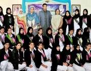 راولپنڈی: مقامی کالج میں نو منتخب اراکین کونسل کی حلف برداری کے موقع ..