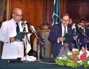 لاہور: گورنر پنجاب ملک محمد رفیق رجوانہ پنجاب کی نگران کابینہ ان عہدوں ..