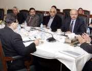 لاہور: وزیر اعلیٰ پنجاب سردار عثمان بزدار واٹر اتھارٹی ایکٹ کا جائزہ ..