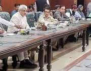 لاہور: صوبائی وزیر سپیشلائزڈ ہیلتھ کیئر اینڈ میڈیکل ایجوکیشن راجہ ..