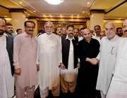 اسلام آباد: ملک عشرت باری کی صاحبزادی کی شادی میں میئر راولپنڈی سردار ..