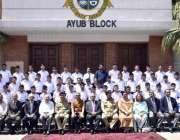 حسن ابدال: گورنر پنجاب ملک محمد رفیق رجوانہ کا کیڈٹ کالج حسن ابدال میں ..