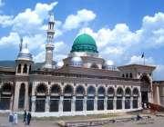 اسلام آباد: امام بری مزار کے بیرونی حصہ کا خوبصورت منظر۔