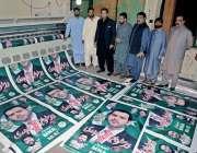 راولپنڈی: مسلم لیگ (ن) کے امیدوار برائے قومی اسمبلی حلقہ این اے62بیرسٹر ..