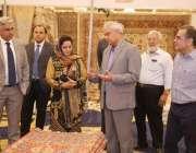لاہور: پاکستان کارپٹ ایسوسی ایشن کے زیر اہتمام مقامی ہوٹل میں منعقدہ36ویں ..