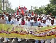 سرگودھا: آل پاکستان ایریگیشن لیبر یونین کے زیر اہتمام مزدورں کے عالمی ..