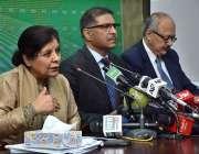 اسلام آباد : نگران وزیر خزانہ ڈاکٹر شمشاد اختراور وزیر اطلاعات و نشریات ..