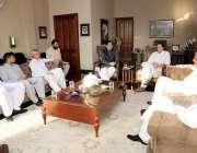 اسلام آباد: عمران خان سے حلقہ این اے205گھوٹکی سے آزاد رکن محمد علی محمد ..