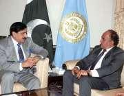 اسلام آباد: وزیر اعظم کے مشیر برائے سیکیورٹی لیفٹیننٹ جنرل (ر) ناصر ..