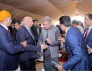 نارووال: کرتار پور راہداری کا سنگ بنیاد ر کی تقریب کے موقع پر وزیر خارجہ ..