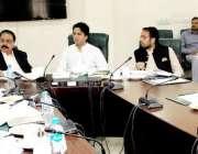 لاہور: صوبائی وزیر خزانہ مخدوم ہاشم جواں بخت آسٹیریٹی کمیٹی کے دوسرے ..