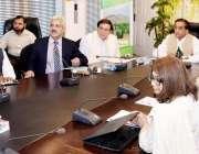 اسلام آباد: وزیر اعظم کے مشیر و وفاقی وزیر ملک امین اسلم خان نیشنل سینی ..