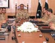 راولپنڈی: آرمی چیف جنرل قمر جاوید باجوہ211ویں کو کمانڈرز کانفرنس کی ..