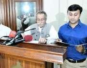 لاہور: سپیکر رانا محمد اقبال پنجا ب اسمبلی کی پریس گیلری کمیٹی کے نو ..