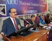 اسلام آباد: وائس چانسلرعلامہ اقبال اوپن یونیورسٹی پروفیسر شاہد صدیقی ..