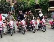 فیصل آباد: وومن ویلز کمپین کے دوران پہلا کامیاب ہونے والا گروپ۔