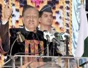کوئٹہ: صدر مملکت ممنون حسین سردار بہادر خان وویمن یونیورسٹی کے9ویں ..