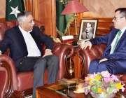 کراچی: گورنر سندھ محمد زبیر سے ترکی کے لیے نئے تعینات ہونے والے قونصل ..