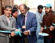 لاہور: گورنمنٹ کالج یونیورسٹی میں وائس چانسلر پروفیسر ڈاکٹر حسن امیر ..