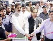 لاہور: وزیر ایکسائز ، ٹیکسیشن و نارکوٹکس کنٹرول حافظ ممتاز احمد کمرشل ..