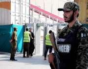 راولپنڈی: کمیٹی چوک میں عاشورہ کے مرکزی جلوس کی حفاظت کے لیے سیکیورٹی ..