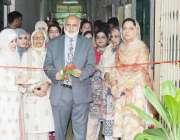 لاہور: وائس چانسلر پروفیسر نیاز احمد پنجاب یونیورسٹی سنٹر فار کلینکل ..