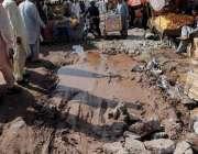 اسلام آباد: کھنہ پل سبزی منڈی ٹوٹ پھوٹ کا شکار ہے جس سے شہریوں کو مشکلات ..