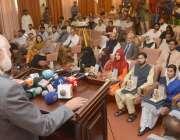 لاہور: وائس چانسلر پنجا ب یونیورسٹی پروفیسر نیاز احمد بی اے /بی ایس ..