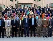اسلام آباد: سندھ مدرسةاسلام یونیورسٹی کے طلباء کا قومی قیادت پروگرام ..