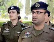 اٹک: ڈی پی او اٹک عبادت نثار یوم پاکستان کے موقع پر پولیس لائن میں یادگار ..