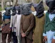 راولپنڈی: تھانہ کینٹ کی کاروائی مختلف مقدمات میں پکڑے جانیوالے ملزمان ..