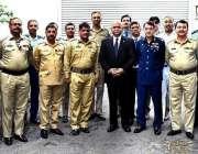 کولمبو: پاکستان کے ہائی کمشنر میجر جنرل (ر) ڈاکٹر شاہد احمد ہشمت کا این ..